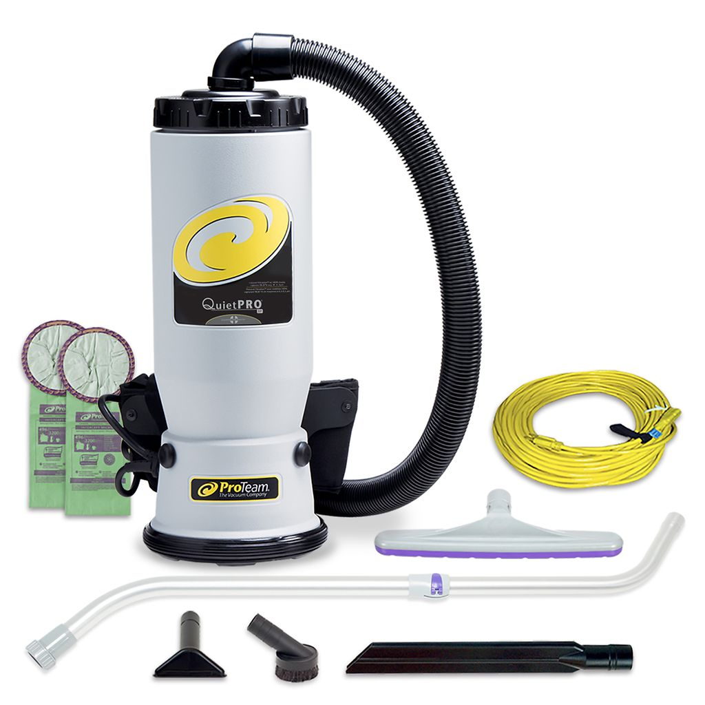 Proteam Commercial Canister Quiet Pro Bp Hepa Aaa Vacuum