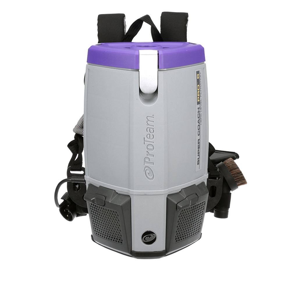 Proteam Backpack Super Coach Pro 6 Aaa Vacuum Superstore
